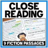 Fiction Close Reading Passages