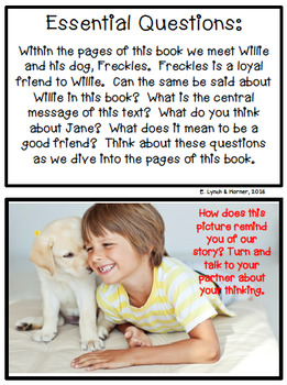 Close Read: Freckles & Willie