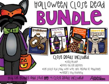 Close Read: Halloween BUNDLE