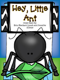 Close Read: Hey, Little Ant