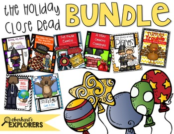 Close Read: Holiday BUNDLE
