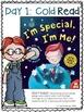 Close Read: I'm Special, I'm Me!