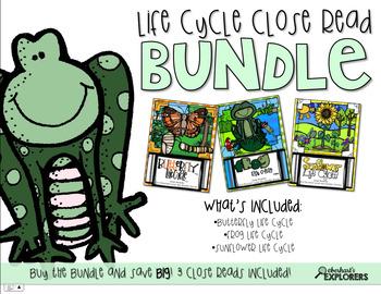 Close Read: Life Cycle BUNDLE