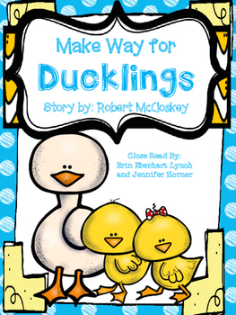 Close Read: Make way for Ducklings