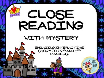 2nd grade Close Read Activities with Mystery