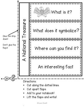 Interactive Notebook - National Symbols