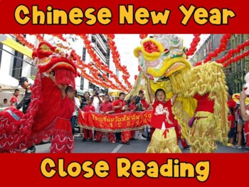 Close Reading ~ Chinese New Year ~ Nonfiction