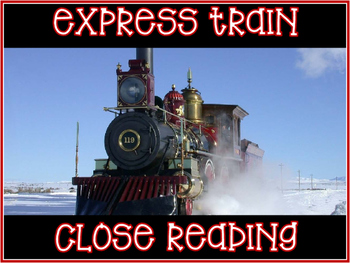 Close Read ~ Polar Express