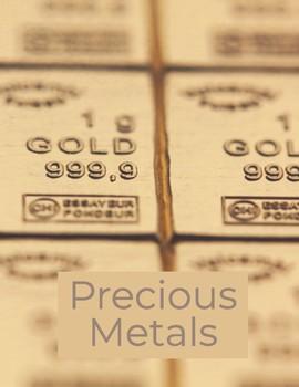 Close Read: Precious Metals