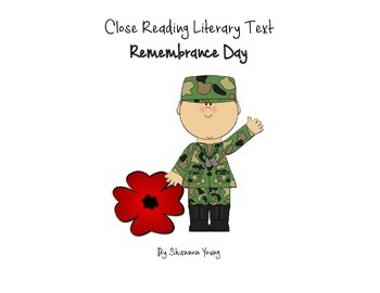 Close Read-Remembrance Day