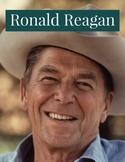"Close Read Ronald ""Dutch"" Reagan 6th grade Leveled Text"