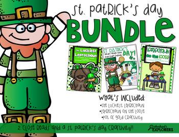 Close Read: St. Patrick's Day BUNDLE