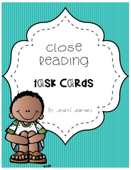 Close Read Task Cards
