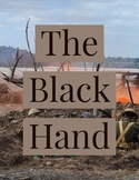 Close Read The Black Hand Start of World War I Text and Resources