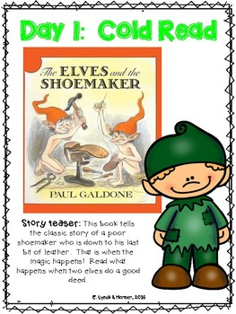 Close Read: The Elves and the Shoemaker