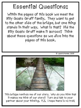 Close Read: The Three Billy Goats Gruff