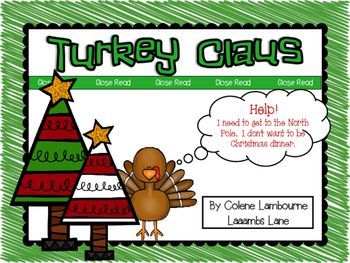 Close Read - Turkey Claus