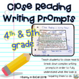 Writing Prompts Upper Elementary