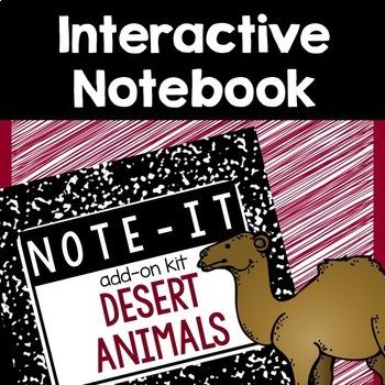 Close Read and Interactive Notebook Bundle- Desert Animals