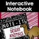 Close Read and Interactive Notebook Bundle- Desert Animals