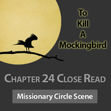 Missionary Circle Scene Chapter 24 Close Read To Kill a Mockingbird