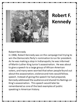 Close Read of Robert Kennedy persuasive speech
