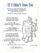 Close Read or Fluency Practice Disney Lyric Activity
