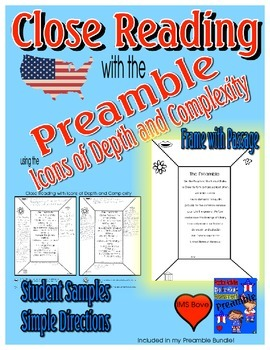 Close Reading with the Preamble