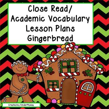 Read Aloud Close Read Lesson Plans - Gingerbread