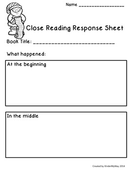 Read Aloud Close Read Lesson Plans - Christmas