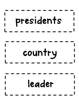 Presidents Day Close Read Lesson Plans