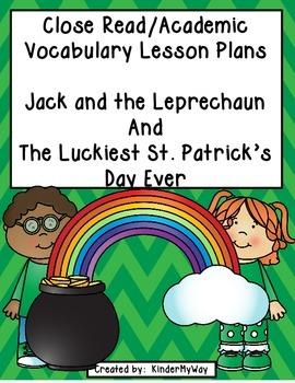 St. Patrick's Day Close Read Lesson Plans
