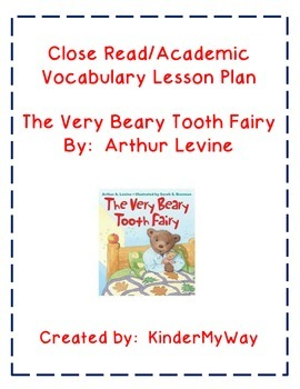 Tooth Fairy Close Read Lesson Plans