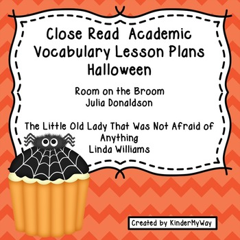 Halloween Close Read Lesson Plans