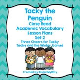 Penguin Close Reading Lesson Plans
