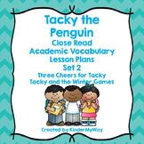 Penguin Close Reading Lesson Plans