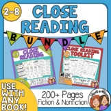 Close Reading Strategies Toolkit Bundle for Informational Text and Literature