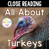 All About Turkeys Close Reading