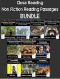 Close Reading 3rd, 4th, 5th, 6th Grade Non Fiction Passages *****BUNDLE!!!*****