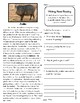 Close Reading 3rd, 4th, 5th, 6th Grade Non Fiction Passages: Desert Animals