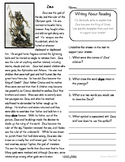Close Reading 3rd, 4th, 5th Grade Non Fiction Passages: Zeus