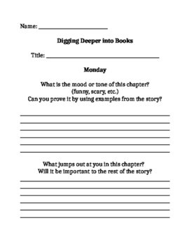 Close Reading - 3rd Grade