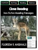 Close Reading 4th, 5th, 6th Grade Non Fiction Passages: Fl