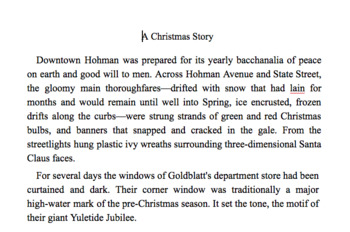 Close Reading A Christmas Story - Great Holiday Lesson - Chromebook Ready