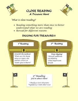 Close Reading-A Treasure Hunt