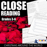 Close Reading Passages - Christmas Around the World