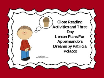 Close Reading Activities for Appelmondo's Dreams by Patric