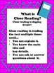 Close Reading Activities for The Keeping Quilt by Patricia