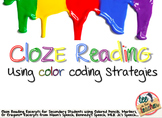 Close Reading Activities using Color Coding Strategies