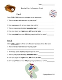 Close Reading Activity - Baseball Card